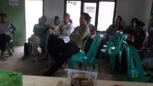 Diskusi Kelembagaan Kelompok Tani Peuntas Jaya Desa Pasanggrahan